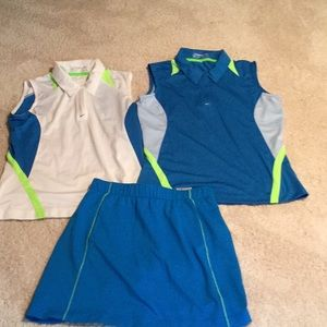 3 piece Nike golf outfit.